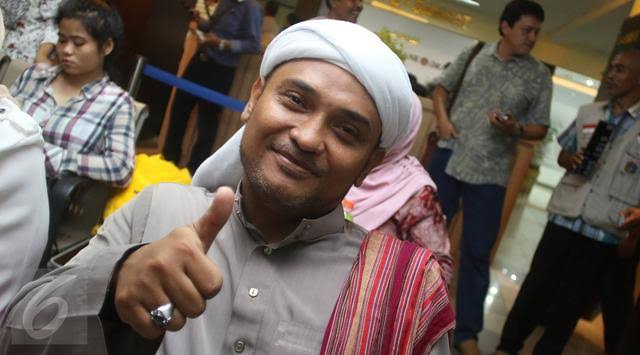 Alumni 212 Kepanasan, Novel Bamukmin Membangkang Perintah Ayahanda Rizieq Shihab & Nyatakan Dukung....