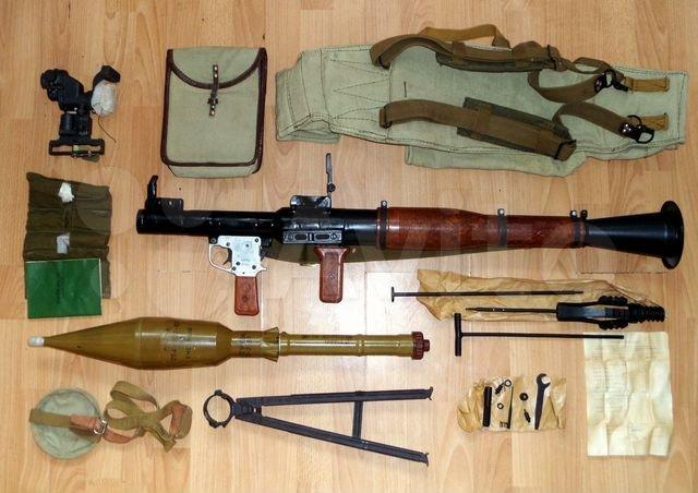 Ручний протитанковий гранатомет РПГ-7 (РПГ-7Д)