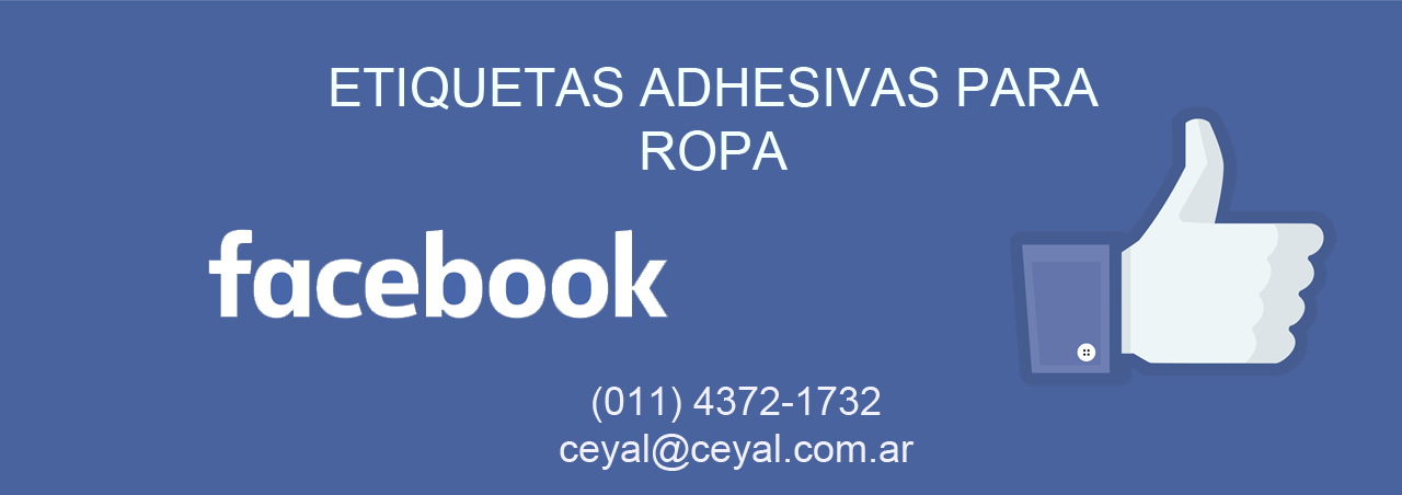 capital federal - 200 Etiquetas poliamida