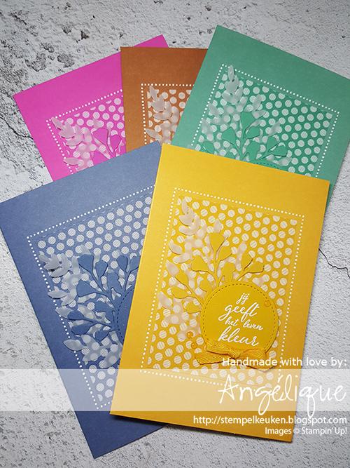 de Stempelkeuken Stampin'Up! producten koopt u bij de Stempelkeuken #stempelkeuken #stampinup #stampinupnl #stampinupnederland #incolors #incolor #magentamadness #justjade #cinnamoncider #mistymoonlight #bumblebee #bij #kleurenpracht #workshop #diy #handmadecards #handgemaaktekaarten #handgemaakt #cardmaking #inkt #stampspaperink #sendsunshine #papercrafting #denhaag #westland #rotterdam #papershare #incolorshare
