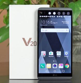 Spesifikasi LG V20