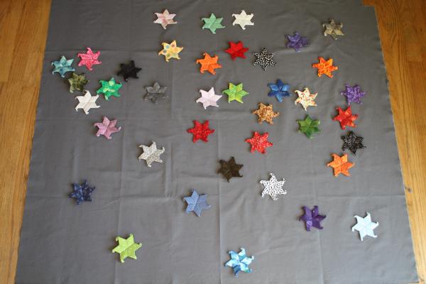 Scattered Stars EPP | DevotedQuilter.blogspot.com