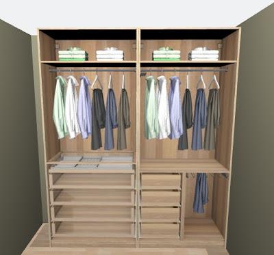 walk-in closet suunnittelu