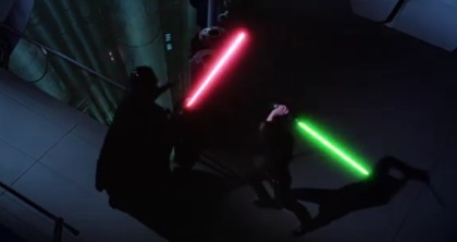Mark Hamill filmek - A Jedi visszatér jelenet