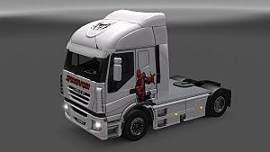 Spider-Man skin for Iveco Stralis