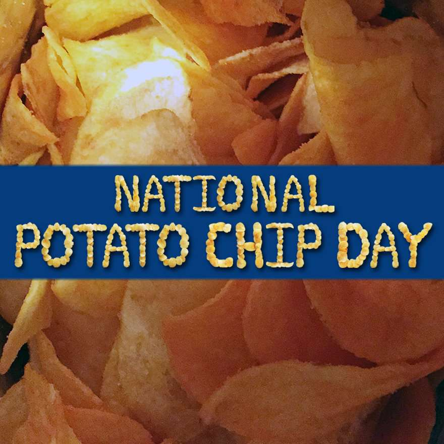 National Potato Chip Day Wishes pics free download