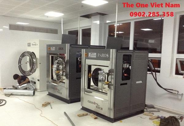 THE ONE cung cấp máy giặt công nghiệp cho khu Liên hợp Lọc hóa dầu Nghi Sơn