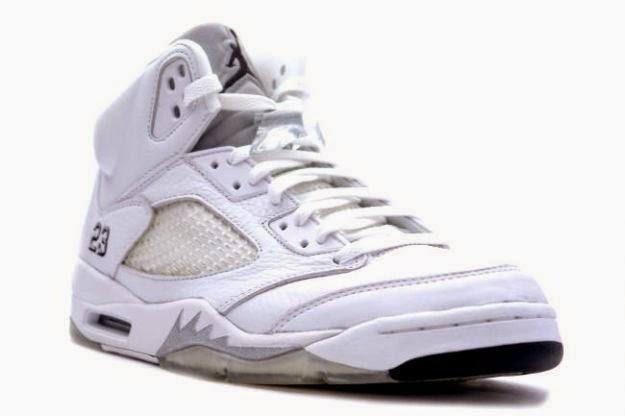 1d9209c9e2b The Air Jordan 5 Retro - White Metallic Silver Release Date is set for April  4th, 2015. Long before the Air Jordan hype came into fruition, Jordan Brand  ...