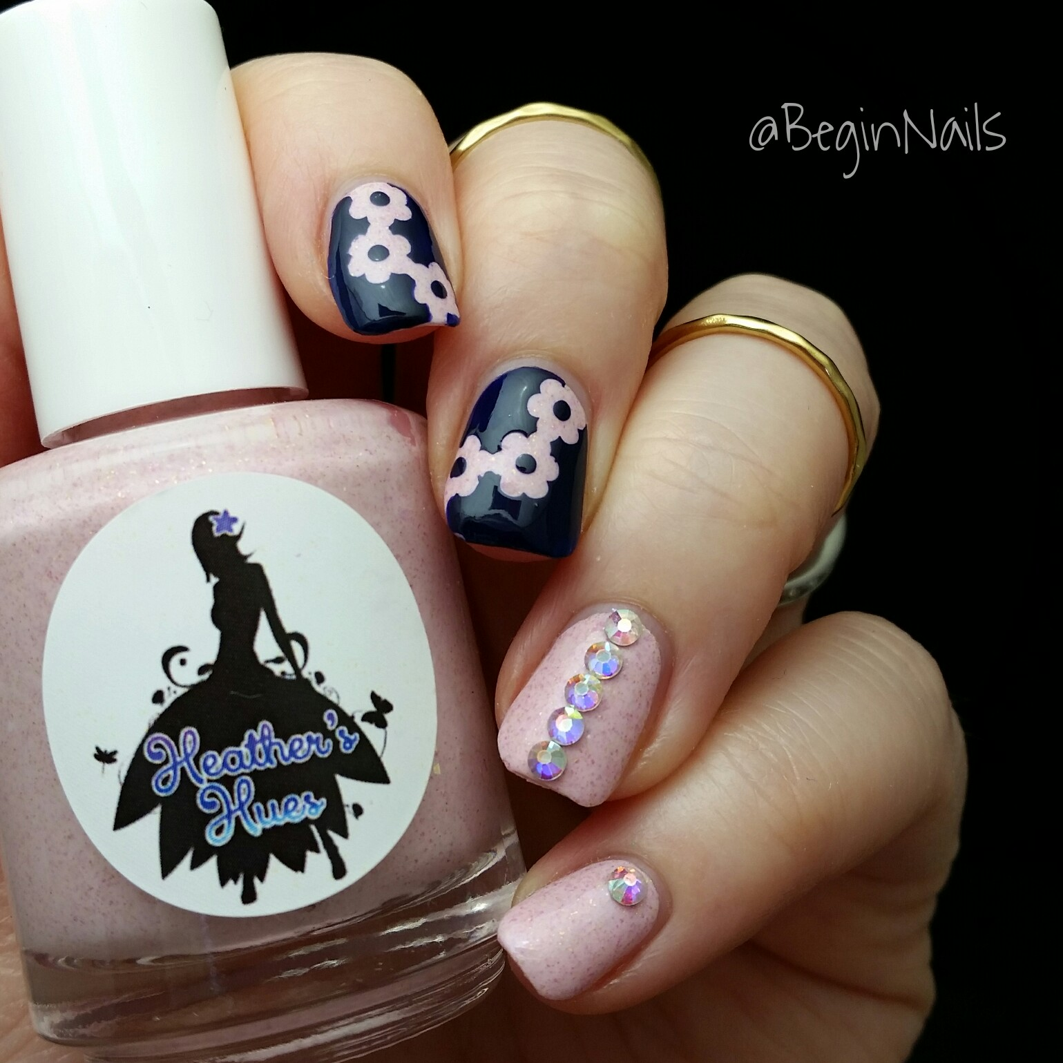 Let S Talk Nail Art: Let's Begin Nails: March Mani Of The Month Box Swatch And