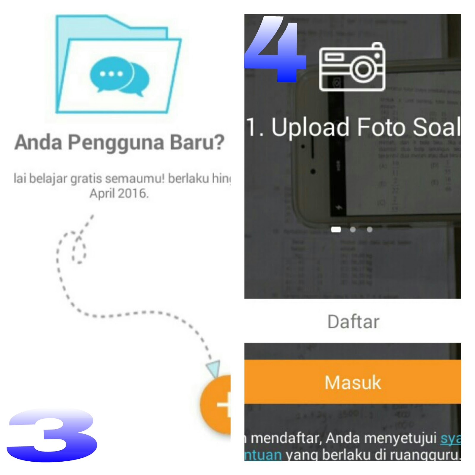 Download aplikasi di Ruangguru di play store