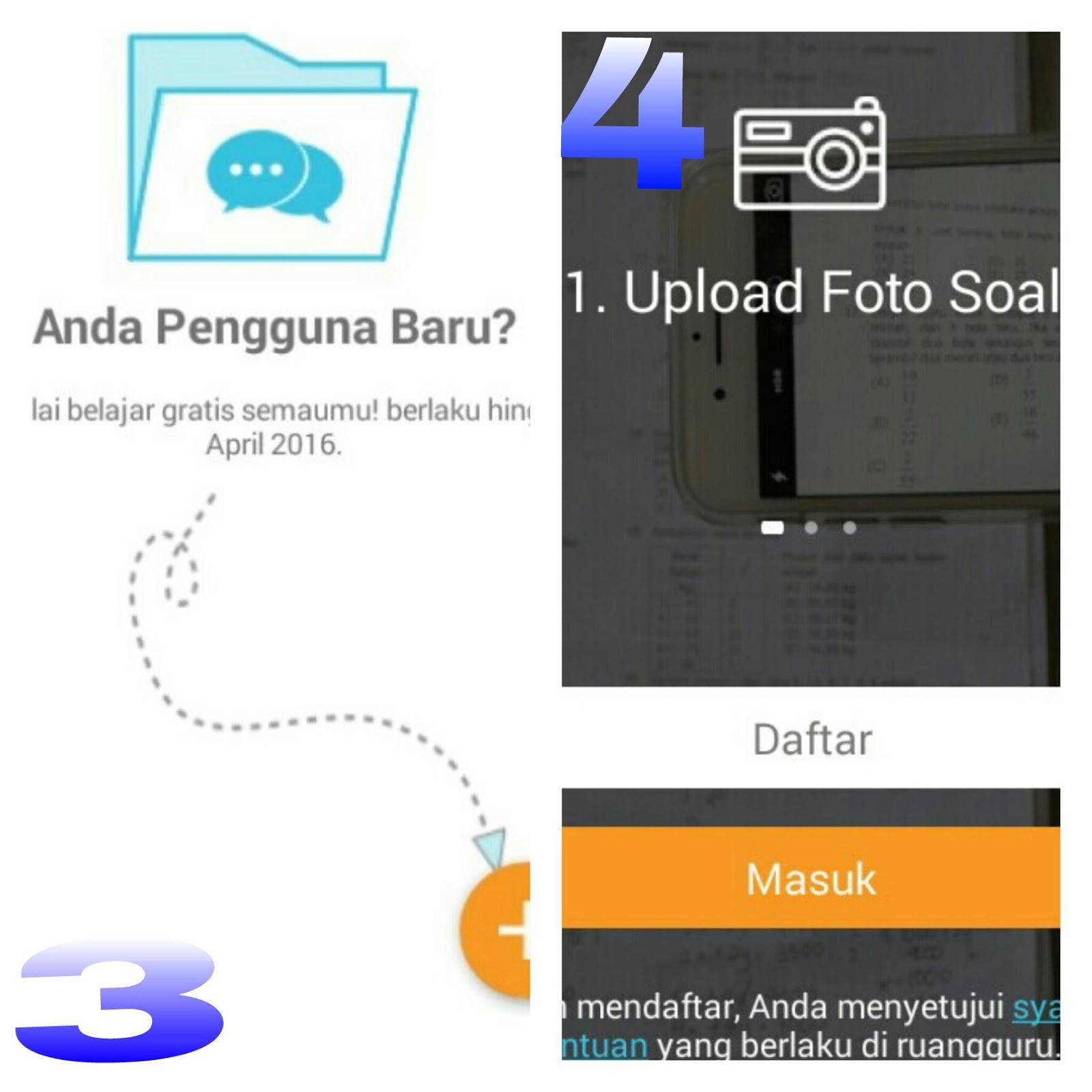 Download aplikasi di Ruangguru di play store