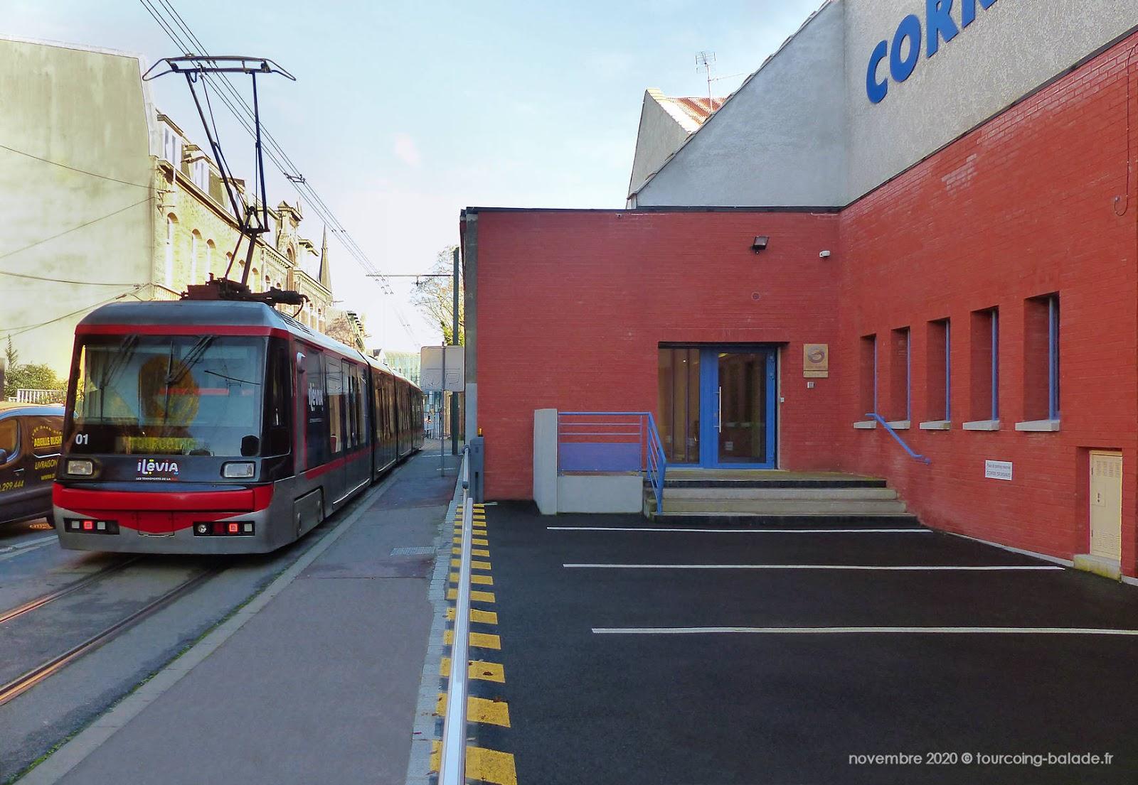 Tramway Ateliers Corri-Servais, Tourcoing 2020