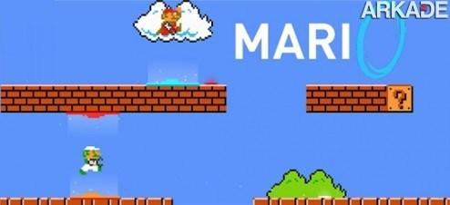 Mari0: jogue agora o clássico Super Mario Bros. com portal-guns