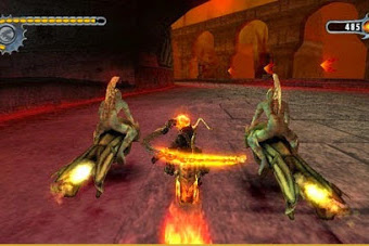 Ghost Rider PPSSPP PSP ISO CSO Android/PC Terbaru