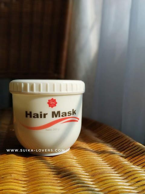 hair mask, masker rambut, viva