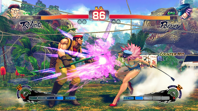 Ultra Street Fighter IV Captura 1