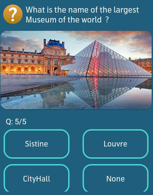 What is the name of the largest Museum of the world?