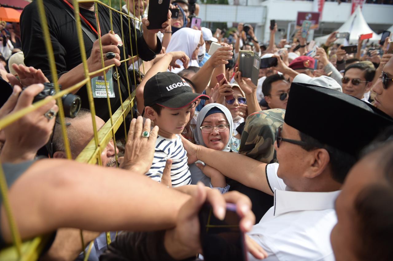 Jokowi Rapuh, Kiai Ma'ruf Sepuh, Prabowo Lugas, Sandi Cerdas.