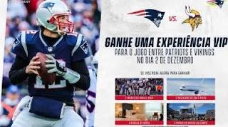 Cadastrar Promoção Patriots Te Leva 2019 Viagem Boston Assistir Futebol Americano