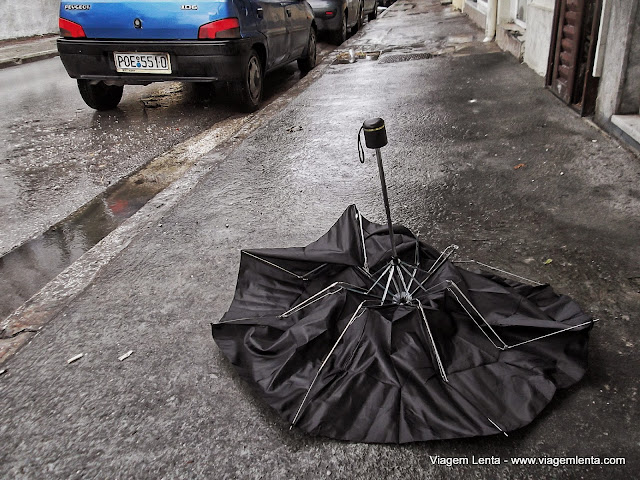 O guarda-chuva chinês