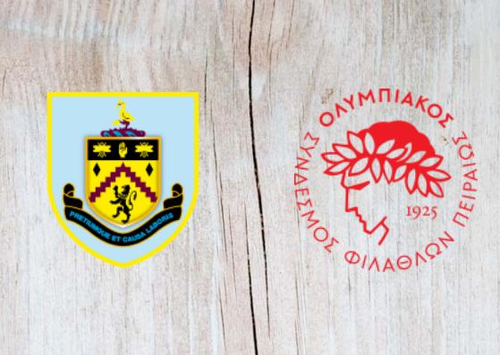 Burnley vs Olympiakos - Highlights - 30 August 2018