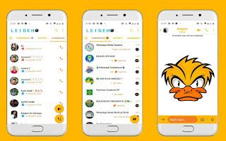 Duck Theme For YOWhatsApp & Fouad WhatsApp By Leidiane