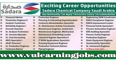 Sadara Chemical Company Recruitment | Saudi Arabia - Jobs In Middle East