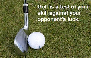 golf ball skill vs luck