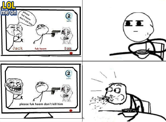 """funny cartoon picture from """"LOL me on"""""""