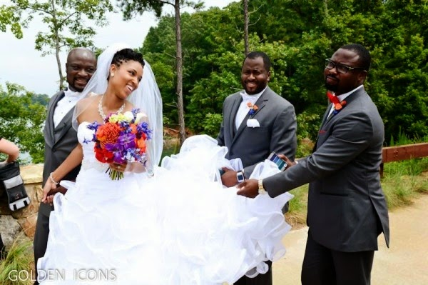 nigerian actor robert peters wedding pictures