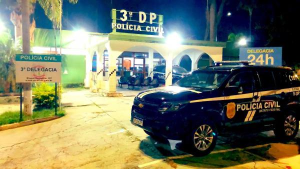 A PCDF prende homem foragido há dois anos pela prática de homicídio