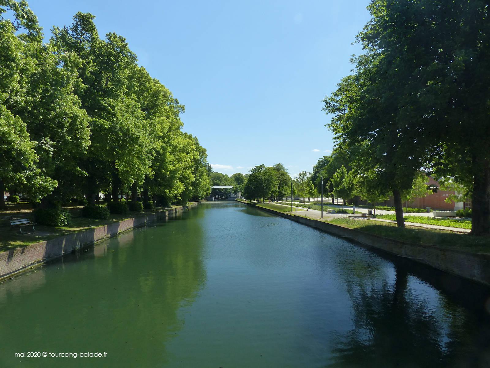 Canal de la Moyenne-Deûle, Lille 2020