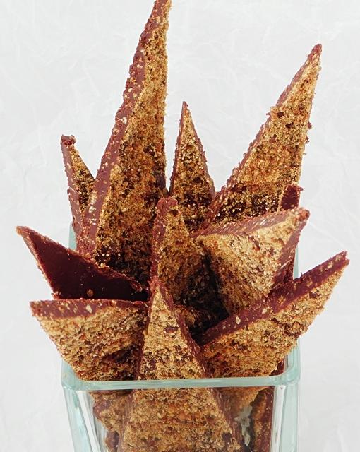 Čokoladice z bučnimi semeni