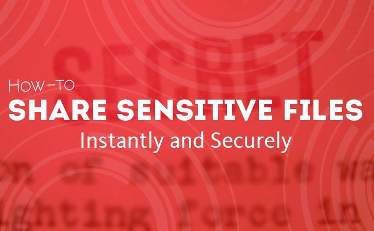 How to Share Sensitive Files Instantly and Securely