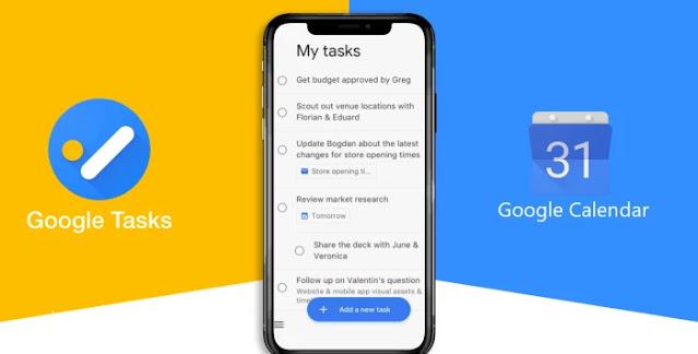 Aplikasi Mobile Google Calendar Terintegrasi Google Task
