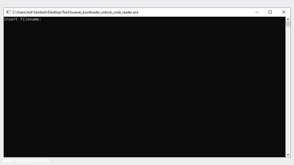 Huawei Bootloader Unlock Code Reader Tool