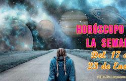 Horóscopo de la semana: Del 17 al 21 de enero