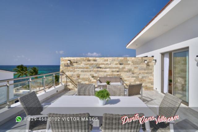 Penthouse frente a la playa en Punta Cana