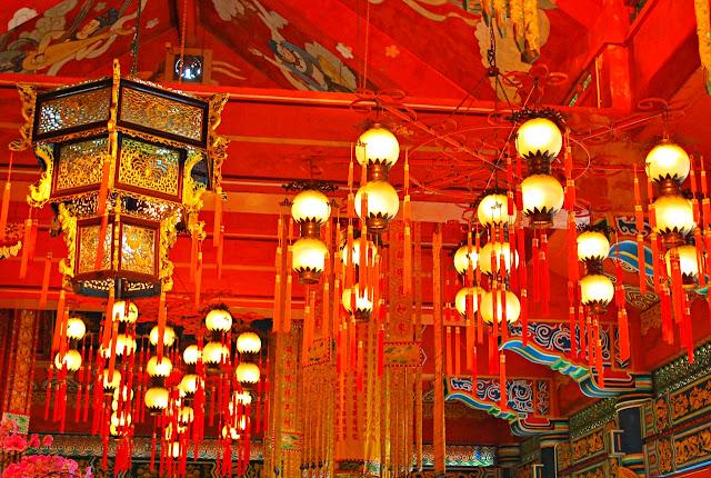 Celine Murillo inside Tian Tan Buddha Hong Kong
