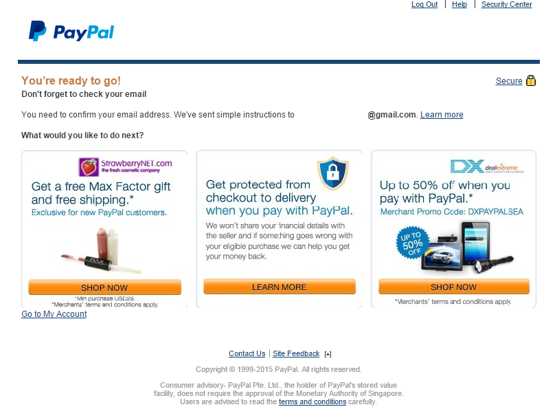 Check if paypal is verified : Oneida com coupon code