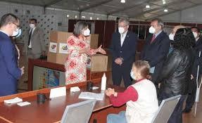 CNE, comparte con representante de la ONU protocolos de Bioseguridad para el 6D