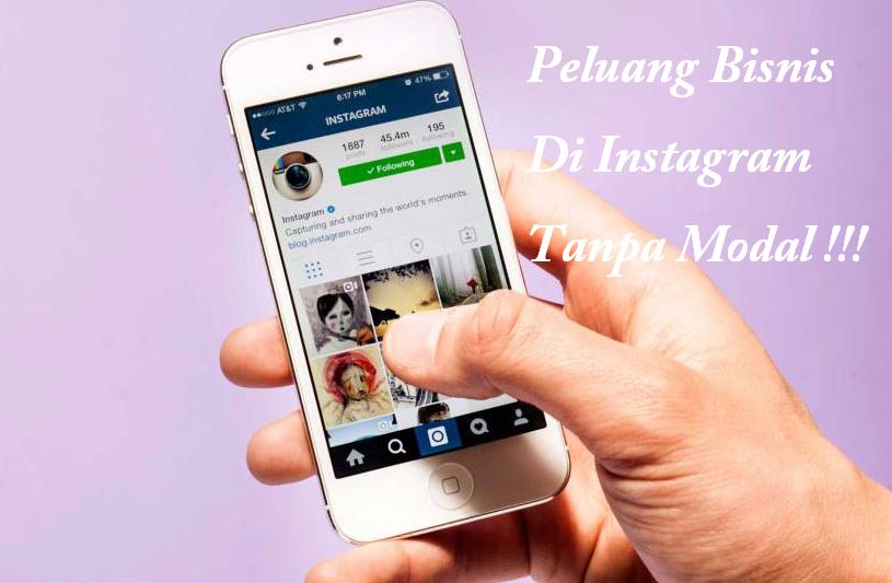 Peluang Bisnis di Instagram, Cocok Untuk Pelajar dan ...