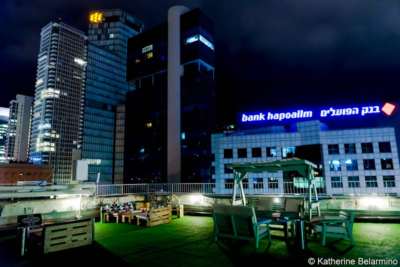 Abraham Hostels Tel Aviv Rooftop Review