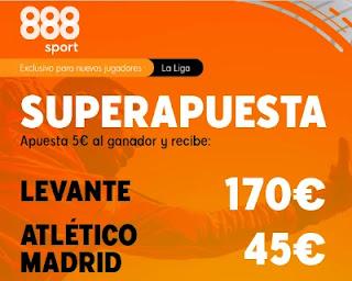 888sport superapuesta Levante vs Atletico 17-2-2021