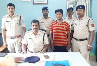 बलात्कार के आरोपी को पुलिस ने 48 घंटे में किया गिरफ्तार