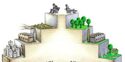 Diferencia entre Economía Convencional y Economía Ecológica