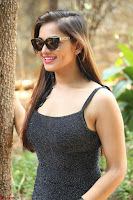 Aswini in lovely Deep Neck Sleeveless Black Dress Spicy Pics ~  Exclusive 64.JPG