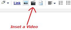 how to put youtube video