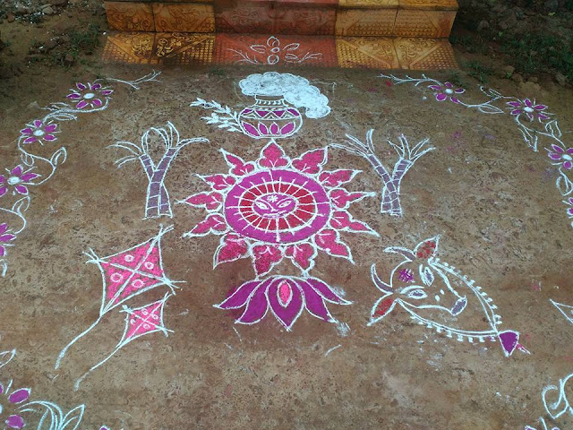 Rangoli Design for Pongal 38