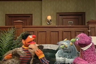 Ernie, Humphrey and Ingrid count the puppies. Sesame Street 123 Count with Me